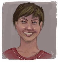 Facebook Stalking Portrait #1 by Liabra