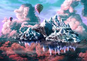 Ski skies by Chromattix