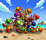 Yoshi's fruit bowl by Chromattix