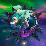 Frozen Flurry galaxy by Chromattix