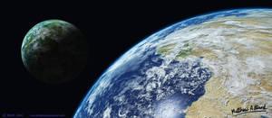 Test - Procedural Vue Planets by Chromattix
