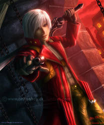 Devil May Cry 3 - Dante by Chromattix