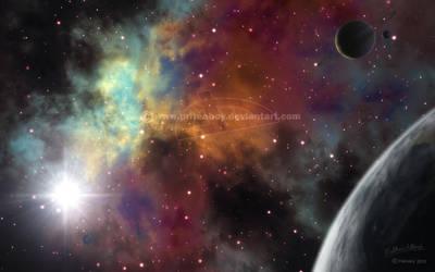 Test - procedural Vue nebula by Chromattix