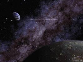 Test- procedural Vue starfield by Chromattix