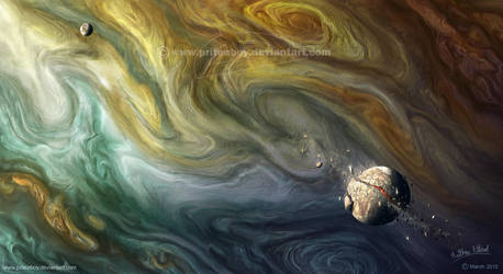 Marbellised Maelstrom by Chromattix
