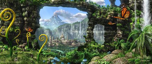 Mysterious Island by Chromattix