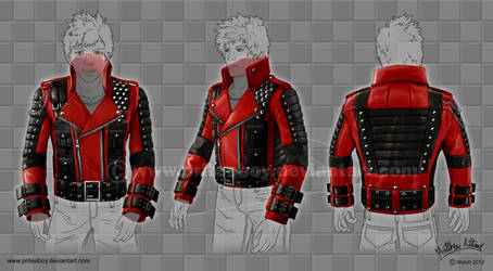 Rockstar Leather Jacket Design by Chromattix