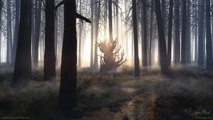 Something In The Woods by Chromattix