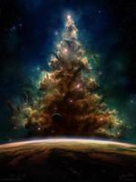 A Space Odditree by Chromattix