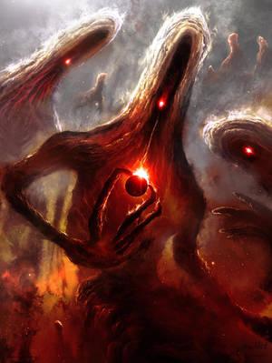 Nebulous Nightmares by Chromattix