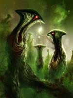 Nebulous Nightmares II by Chromattix