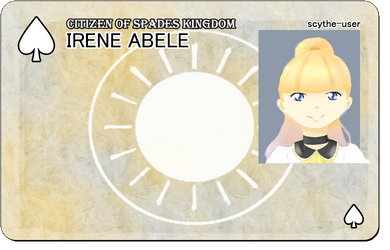 VS: Irene Abele ID by bowfanatic