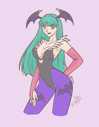 Morrigan by Sicknea