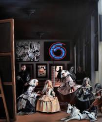 Las Meninas Interpretation by alexracu