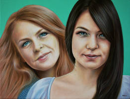 Beautiful Sisters by alexracu