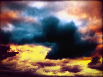 colourful clouds in sky by 4dpaul