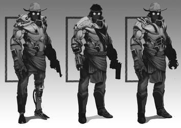 Character Design Recouvreur 02 by Teterence