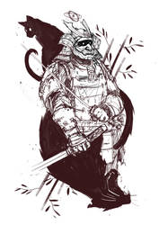 Samourai Tatoo by Teterence