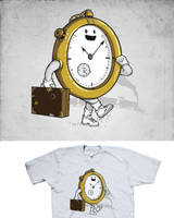 Time traveler by Naolito