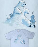 Ice bear by Naolito