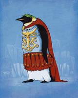 Penguin emperor by Naolito