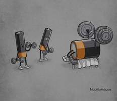 Power lifting by Naolito