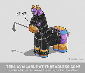 Hit Me! - Tees available! by Naolito