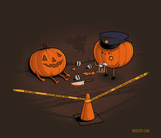 Crime Scene by Naolito