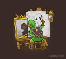 Heroic Self Portrait by Naolito