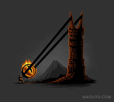 How to defeat Sauron by Naolito