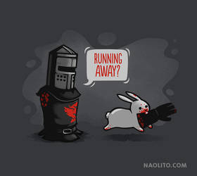 Running away by Naolito