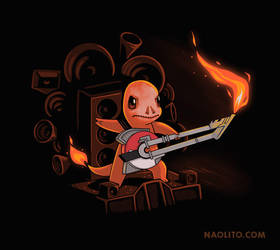 Fire Road by Naolito