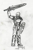 Skullkincrois Knight by JUSTinnator4