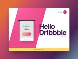 We're on dribbble. by luisperu9