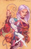 Legion of Superheroes. by MBirkhofer