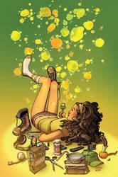 Popgun Bubbles Goldenrod by MBirkhofer