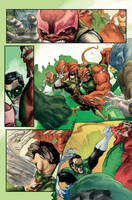 Green Lantern Corp 63 p13 by MBirkhofer