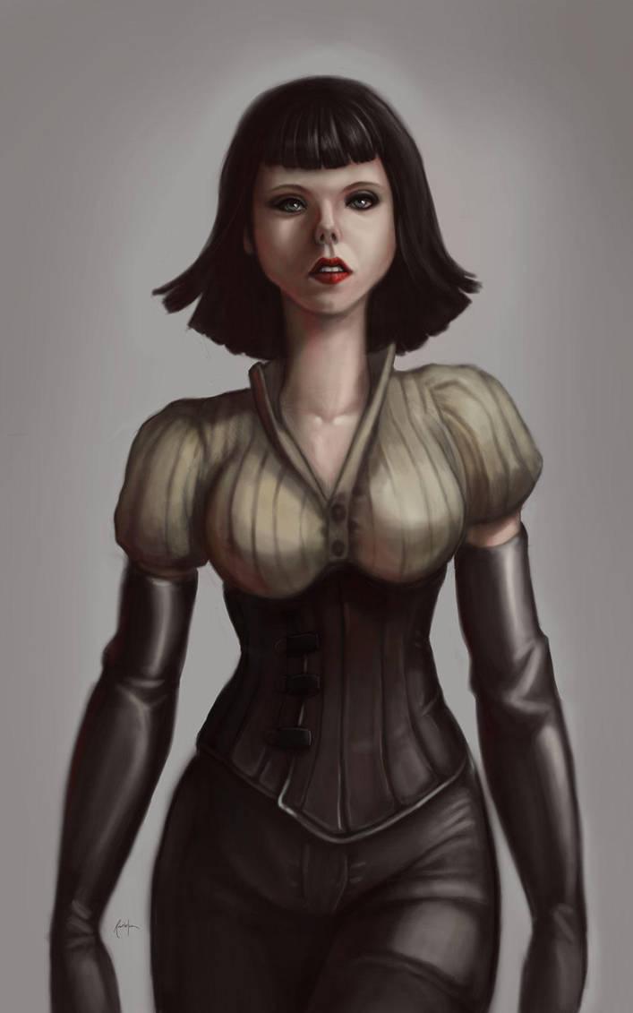 Maiden Assassin by dinfet