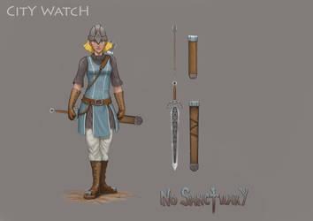 No Sanctuary: City Watch by dinfet