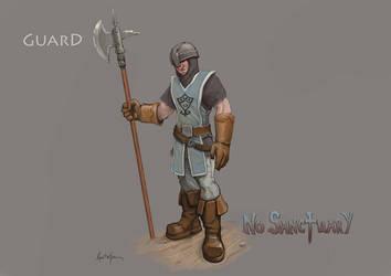No Sanctuary: Guard by dinfet