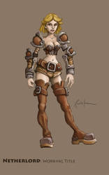 Rejected Character Design 01 by dinfet
