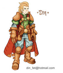 Character: Din Arden -Leather  Armor - Wip by dinfet