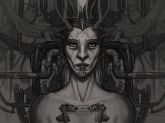 HR Giger Tribute by dinfet