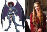 Lena Headey as Demona by BlackBatFan
