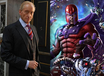 Charles Dance as Magneto by BlackBatFan