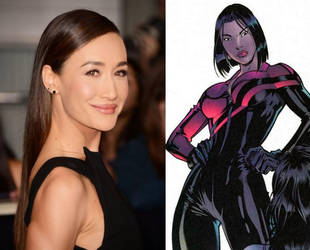 Maggie Q as Lady Shiva by BlackBatFan