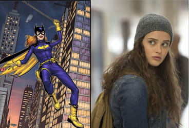 Katherine Langford as Barbara Gordon by BlackBatFan