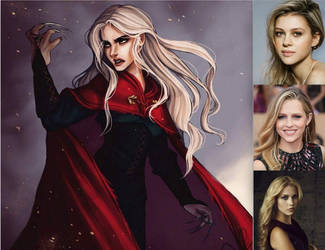 My Wish cast for Queen of Shadows Part 2 by BlackBatFan