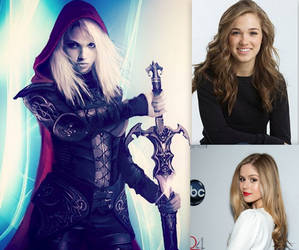 My Wish cast for Queen of Shadows Part 3 by BlackBatFan