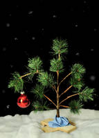 Charlie Brown Christmas Tree by sara-satellite